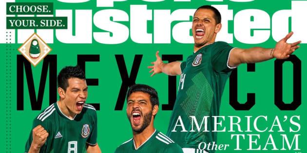 """Una de las cuatro portadas de la revista Sports Illustrated es dedicada a la Selección Mexicana. """"El otro equipo de Norteamérica"""", se lee en la publicación."""