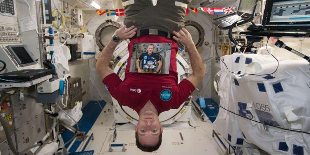 Le cerveau des spationautes se déplace après de longs séjours en orbite — Espace