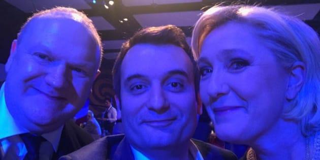 Le comédien Franck de Lapersonne investi candidat FN aux élections législatives