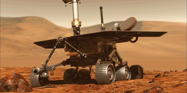 La Nasa dit adieu à son rover martien Opportunity.