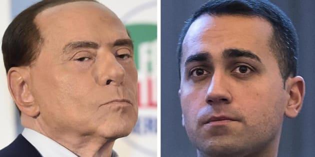 Elezioni, Berlusconi e Di Maio