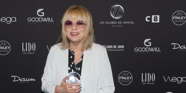 La chanteuse française France Gall