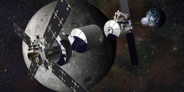 A quoi va servir (et ressembler) la Station spatiale lunaire internationale