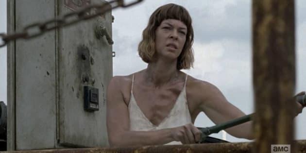 """Cette scène ultra-gore de l'épisode 10 de la saison 8 de """"The Walking Dead"""" en a écœuré plus d'un ce 5 mars."""