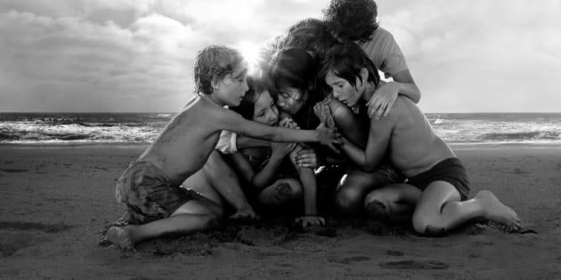 Una escena de 'Roma' de Alfonso Cuarón.