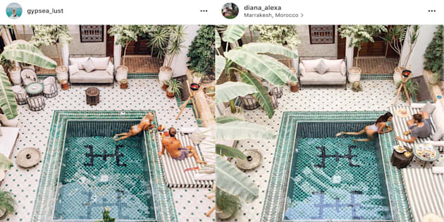 Instagram Detail: Leurs Photos Instagram De Rêve Ont été Plagiées Au Détail Près