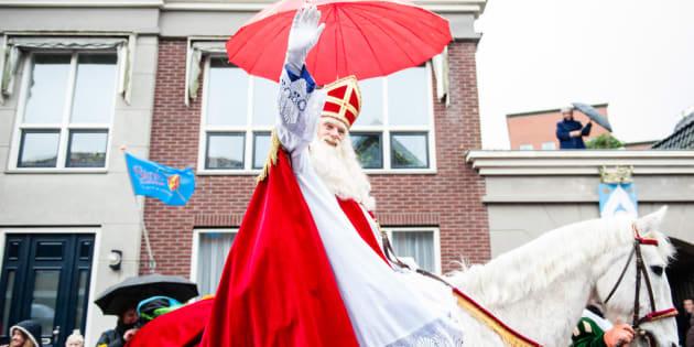 La llegada de San Nicolás (Amsterdam).