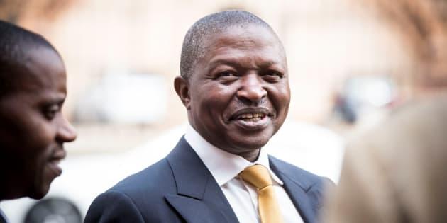 Mpumalanga premier David Mabuza