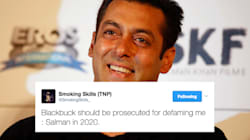Salman Khan Claims Blackbuck Died Of Natural Causes And Twitter Just Can't