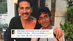 Akshay Kumar's 'Jabra' Fan Cycles All The Way From Haridwar To Meet His
