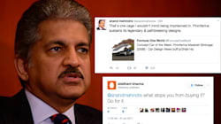 Here Is Anand Mahindra's Perfect Thug Life Moment On