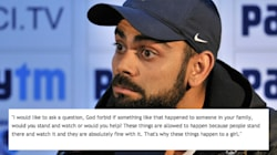 In Heartfelt Video Message, Virat Kohli Says He's Ashamed To Be A Part Of Society That Is Unsafe For