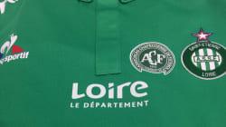 L'hommage des verts de Saint-Etienne à