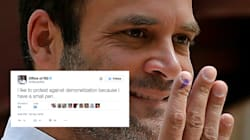 Rahul Gandhi's Official Twitter Account Has Been Hacked And The Abusive Tweets Haven't Stopped