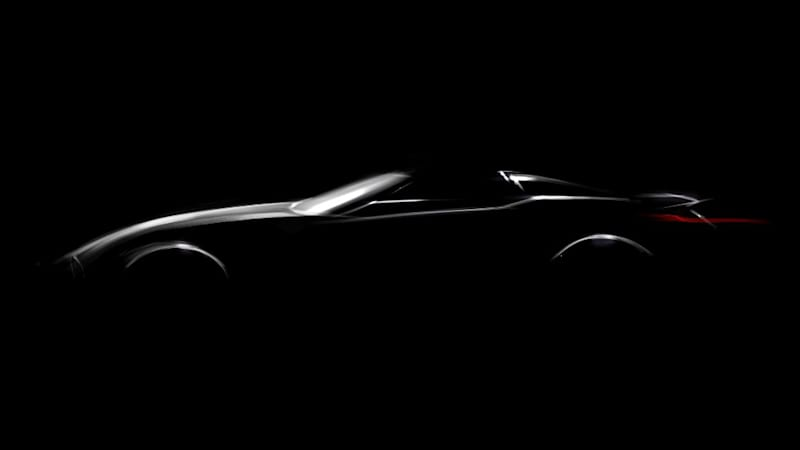BMW will show a roadster at Pebble Beach