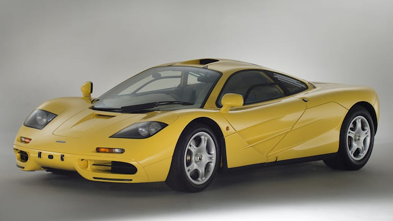 This never-registered 1997 McLaren F1 is for sale, if you have the cash
