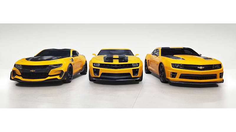 Bumblebee Chevy Camaros From Transformers Movies To Be Auctioned