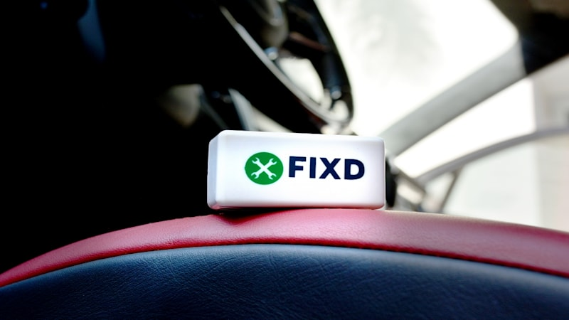 Fixd car health monitor