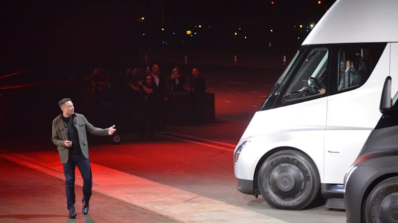 Sysco places order for 50 Tesla Semi trucks