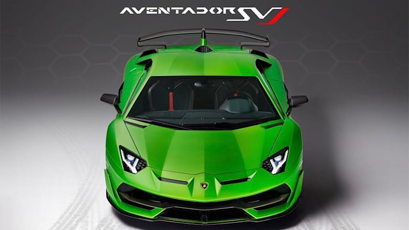 The New Lamborghini Aventador SVJ Will Officially Be Revealed Thursday  Evening At The Pebble Beach Concours Du0027Elegance, But The Limited Edition  Supercar Has ...