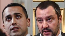 Faccia a faccia tra Luigi Di Maio e Matteo Salvini: