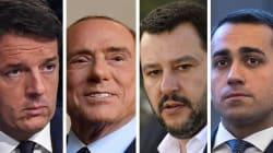 Nessuno ha la maggioranza. Boom 5 Stelle: primo partito al 33%. Salvini supera Berlusconi, crollo Pd al 18 (di C.