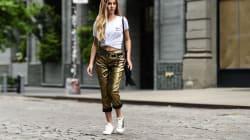 Las deportivas de moda: de terciopelo, bordadas y con suela