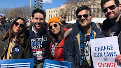 'Parks and Recreation' Cast Reunites At March For Our Lives