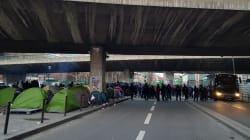 Des centaines de migrants évacués d'un campement à