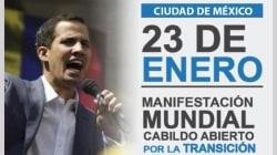 Venezolanos en México convocan a