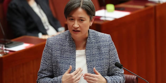 """Penny Wong: """"I do want to make clear that this bill doesn't in any way legitimise the survey process."""""""