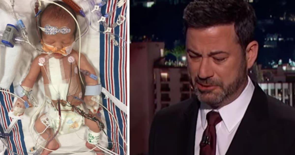 Jimmy Kimmel Reveals Baby Son S Heart Defect In