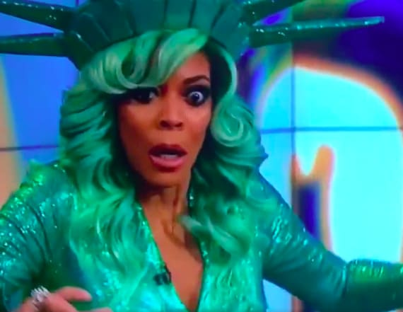Wendy Williams collapses live on air