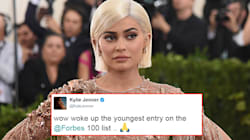 Kylie Jenner Is The Youngest On Forbes' List Of 100 Highest Paid