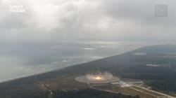 Cette fois-ci, la fusée de SpaceX est bien revenue sur