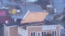 WATCH: Not Even Roofs Are Safe From Newfoundland's