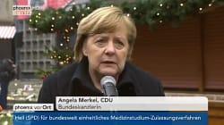 Merkel admet des défaillances un an après l'attentat de