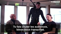 Paul Pogba s'incruste dans une interview entre Thierry Henry et