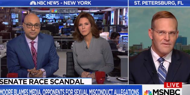 Roy Moore's lawyer makes offensive racial comment about MSNBC's Ali Velshi