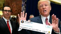 L'attitude de Trump face aux patrons résumée en une