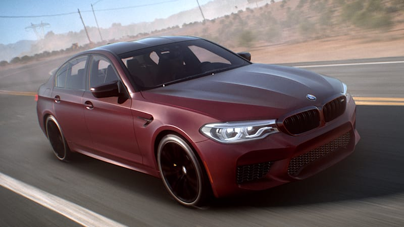 2018 bmw m5 makes virtual debut in 39 need for speed payback. Black Bedroom Furniture Sets. Home Design Ideas