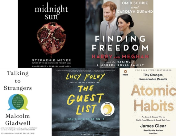 5 best-selling audiobooks we can't wait to listen to