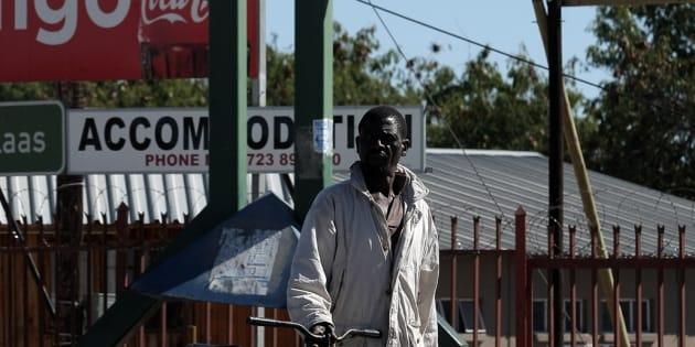 Beitbridge border in Musina, South Africa.