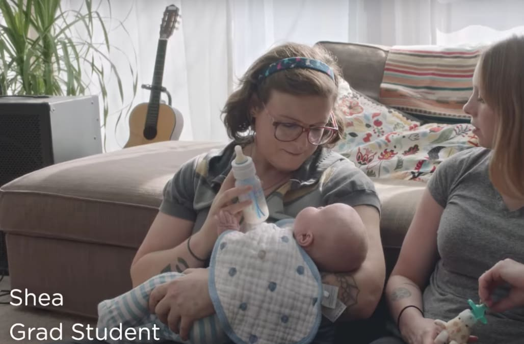 Dove includes transgender mom in ad about #RealMoms