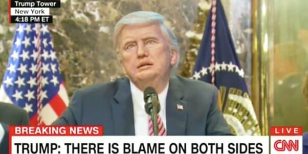 Il a remplacé le vrai Donald Trump par son robot et le résultat est hilarant (ou terrifiant)