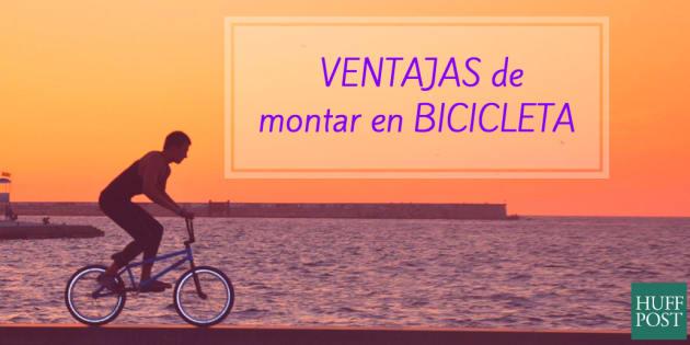 6 ventajas de montar en bicicleta: más atractivo y más longevidad
