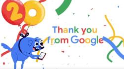 Google fête ses 20 ans avec une vidéo