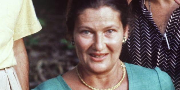 La ministre de la Santé Simone Veil, le 9 octobre 1978.