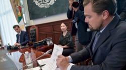 Peña Nieto, Slim y DiCaprio se comprometen a la protección de ecosistemas