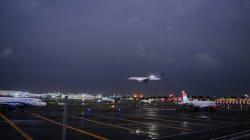 Avión aterriza de emergencia en CDMX, no se reportan